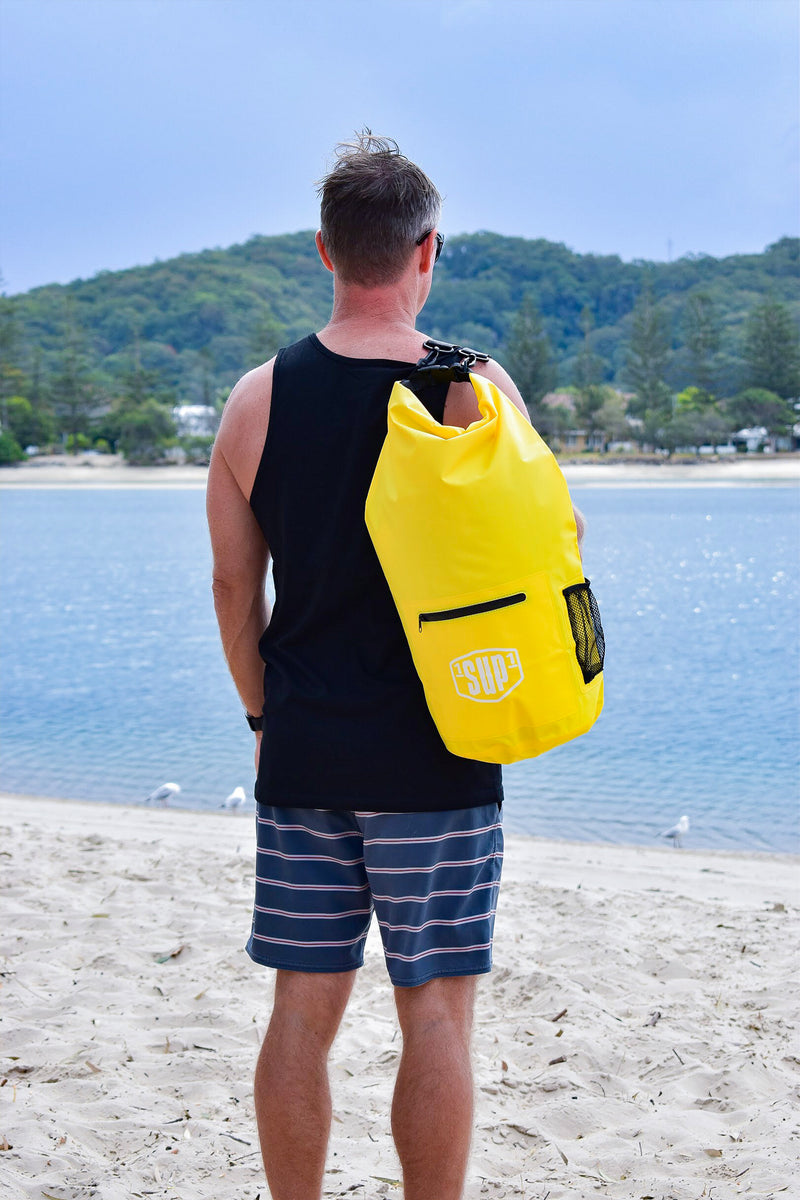 Dry Backpack (Yellow)