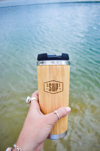 SUP Board Sock (Blue, Grey & White Stripe)