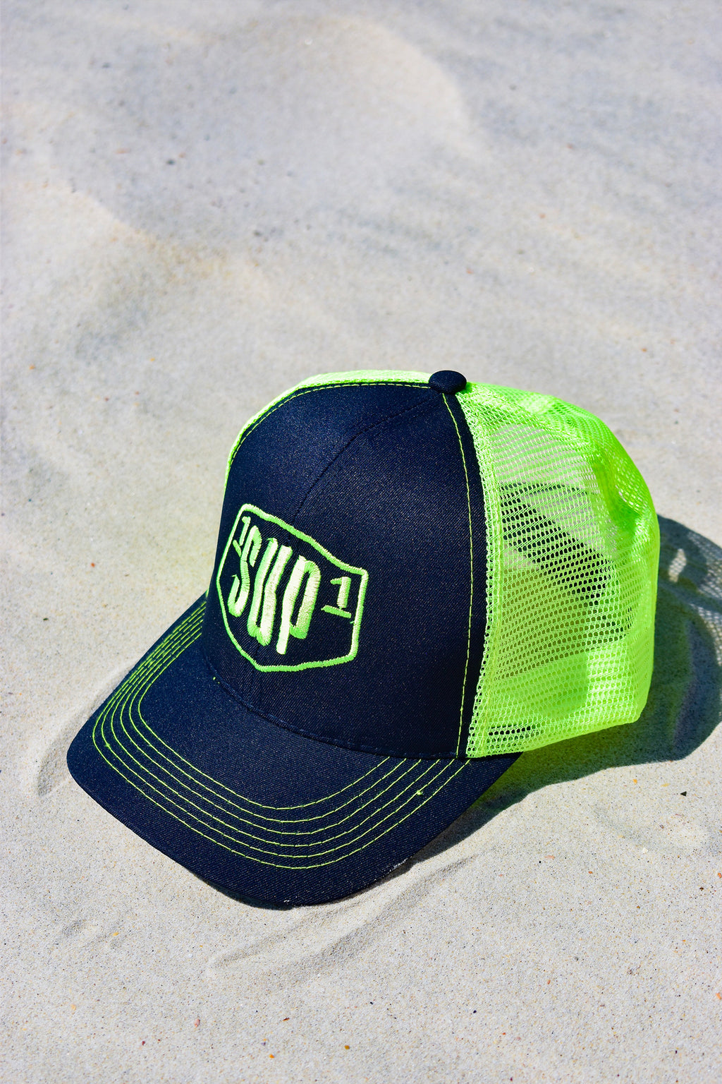 1SUP1 Baseball Cap (Yellow & Black)