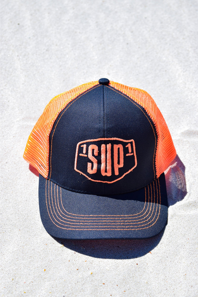 1SUP1 Baseball Cap (Orange & Black)