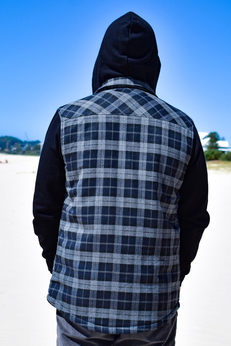 """Back Beach Fleece"" Hooded Jacket"