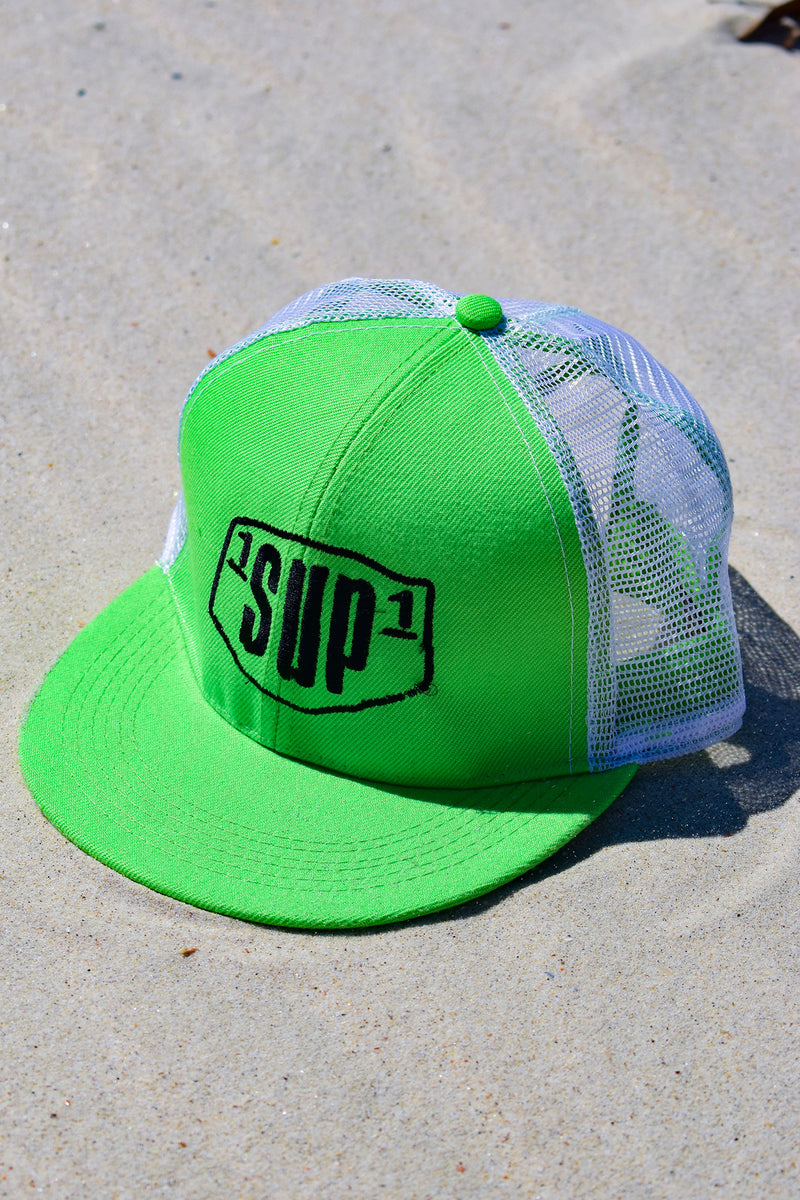 1SUP1 Trucker Cap (Green)
