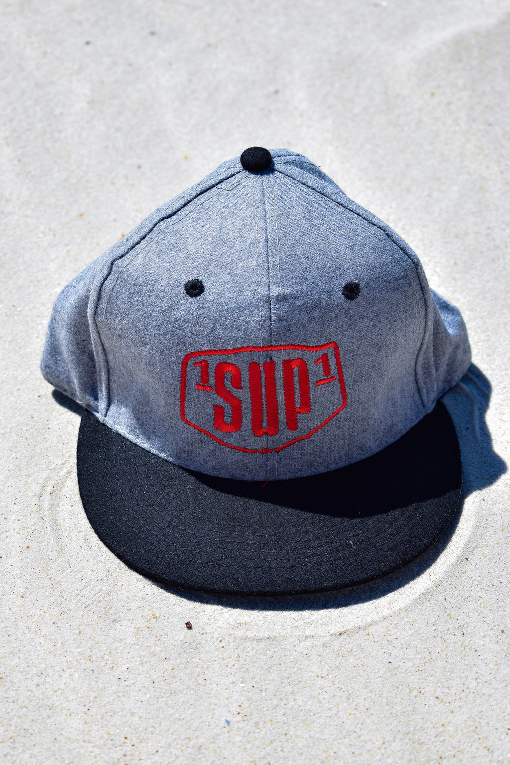 Wool 1SUP1 Cap (Grey)