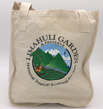Load image into Gallery viewer, Limahuli Garden Logo Canvas Bag