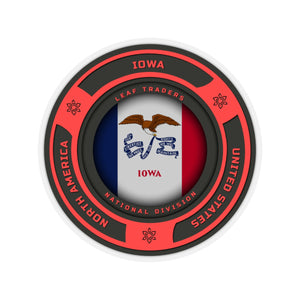 Iowa | Leaf Traders Region Badge