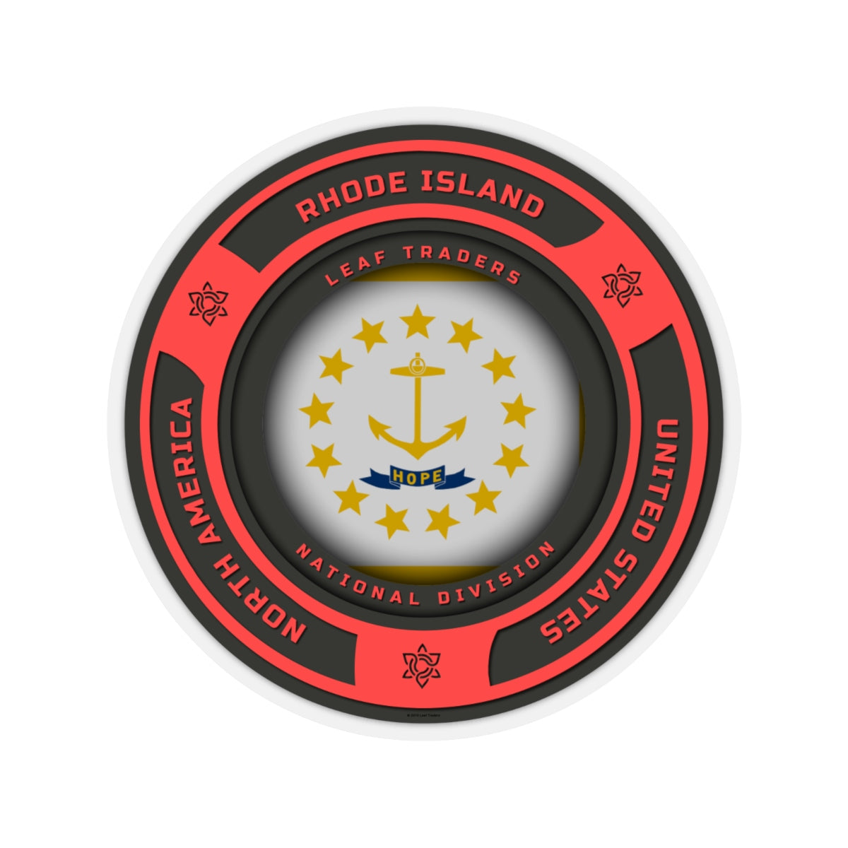 Rhode Island | Leaf Traders Region Badge