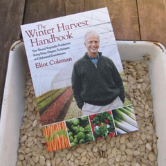Seedy Reads: The Winter Harvest Handbook by Eliot Coleman