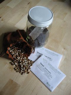 Seed returns from 3 different Seed Library members.