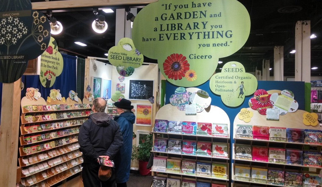 Boston Flower Show Booth