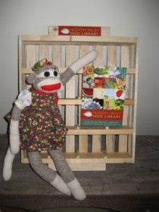 Display case. (Sock Monkey not included.)