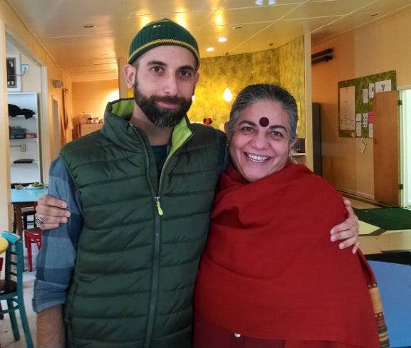 Meeting Vandana Shiva- a seed-saver's dream come true!