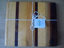 Maple, Black Walnut, Hickory Cheese Board by Rustic Stu