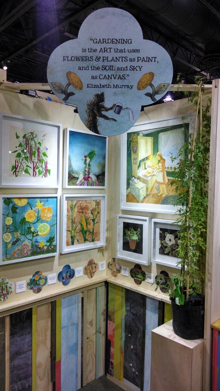 Last year's Art of the Heirloom Exhibition.