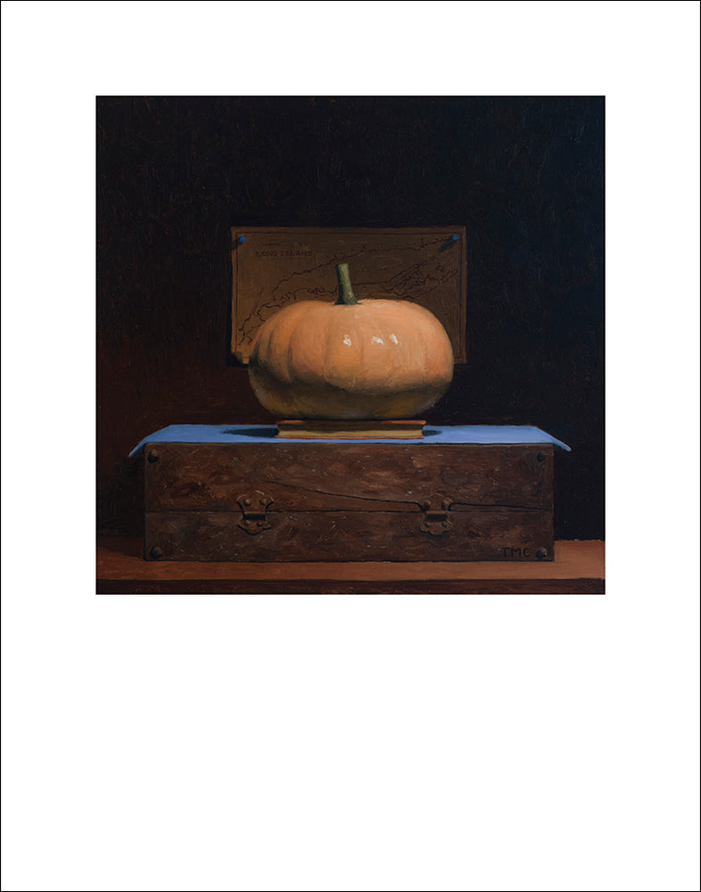 Long Island Cheese Pumpkin Fine Art Print