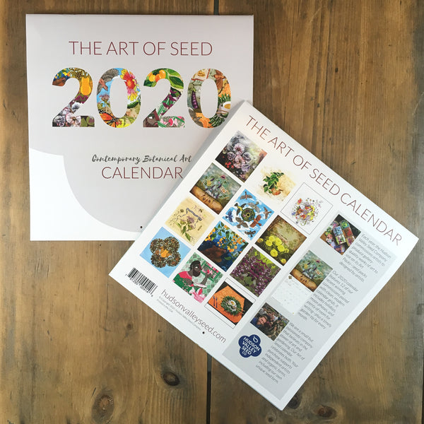 2020 Art of Seed Calendar - 50% OFF