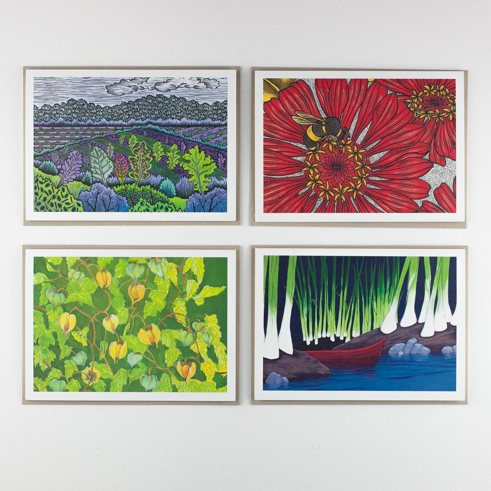 Gardeners' Favorites Art Pack and Note Card Set