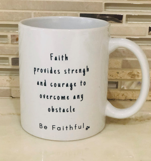 FAITHFUL Hibiscus Mug