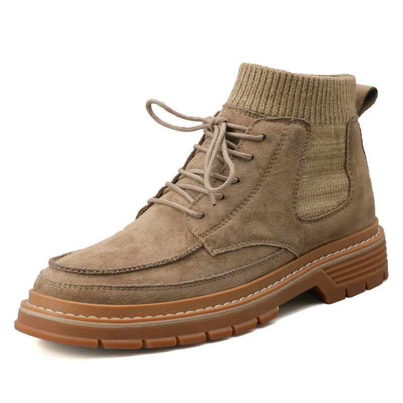 New men's desert booties - agendin