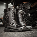 Men's Fashion Trend Motorcycle Outdoor High Boots