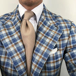 Casual Pure Color Brief Necktie