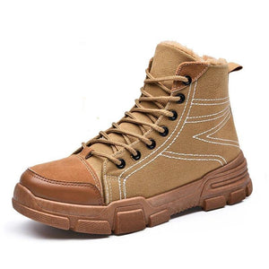 Retro Martin boots men's shoes outdoor non-slip boots casual wear boots - agendin