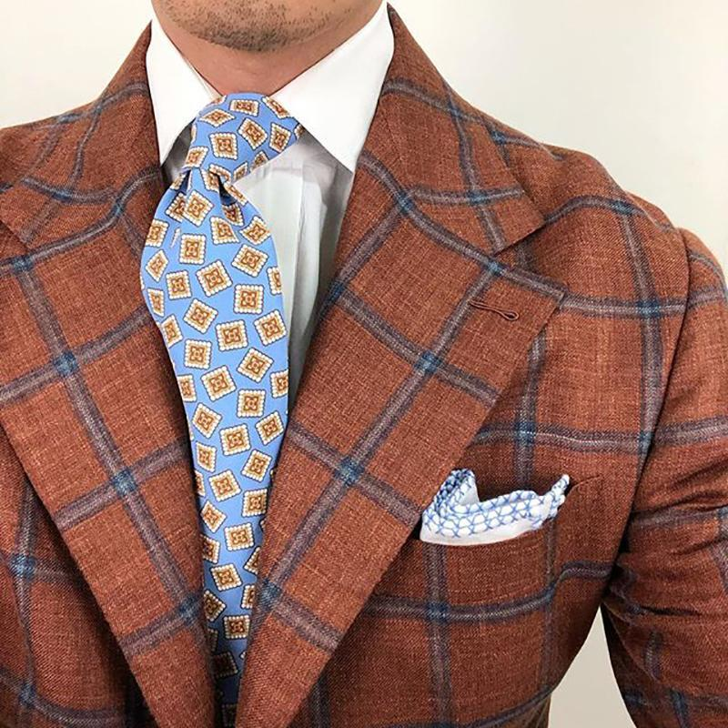 Men's Fashion Printed Tie