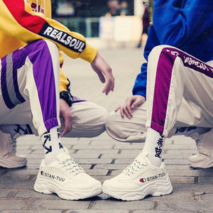 2019 spring new men's sports shoes Korean ulzzang casual shoes - agendin