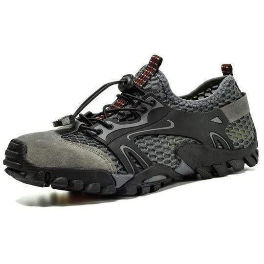 bestonow Hiking Gray / US 7 (EUR 39/UK 6) ( BEST SALE 70%OFF) - Outdoor Hiking Shoes - Super Resistant & QUICK DRY & Comfortable【Buy two pairs of free shipping】