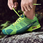 bestonow Hiking Green / US6.5/EU39 ( BREATH NEW 70%OFF)2019 New Arrival Outdoor Breathable Running Shoes
