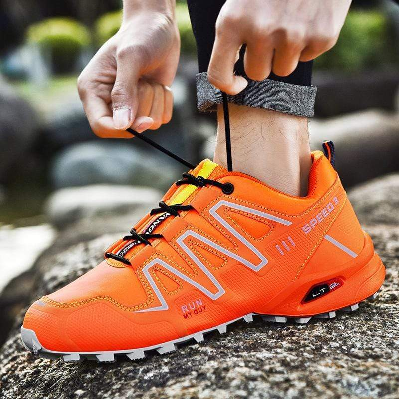 bestonow Hiking ( NEW*Orange)*Women's Outdoor Trail Running Climbing Sport Shoes
