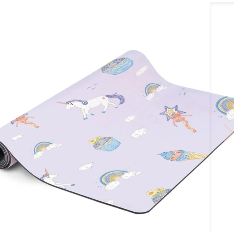 Printed Lux Yoga Mat for Kids