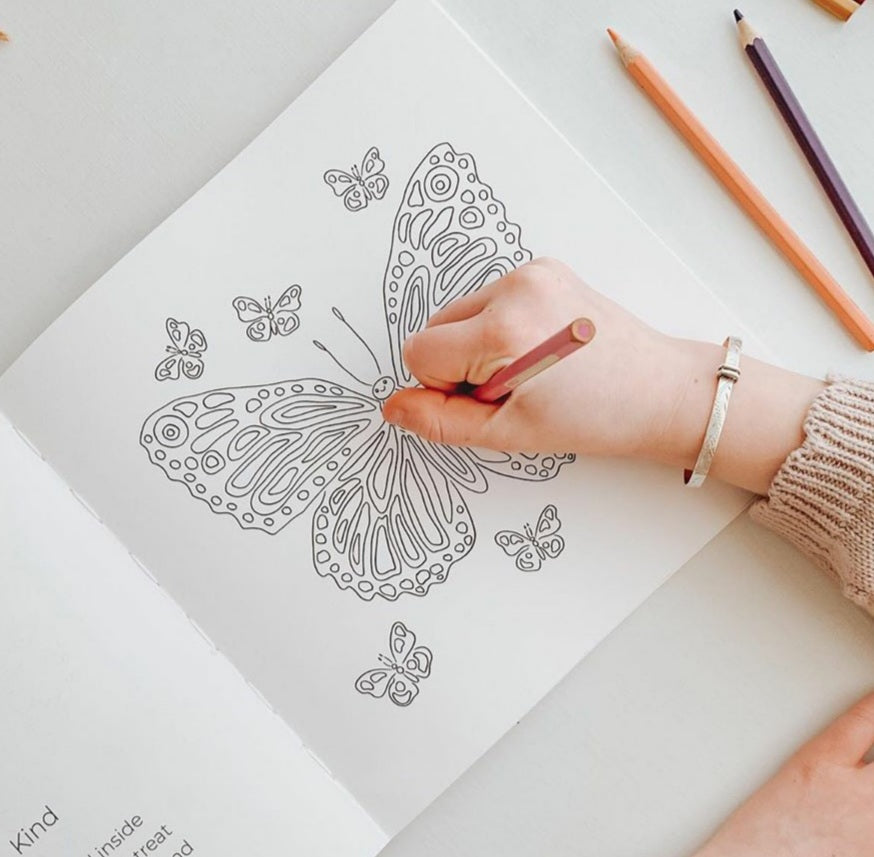 ABCs of Mindfulness colouring book