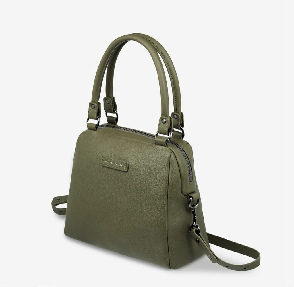 Last Mountains Leather Bag