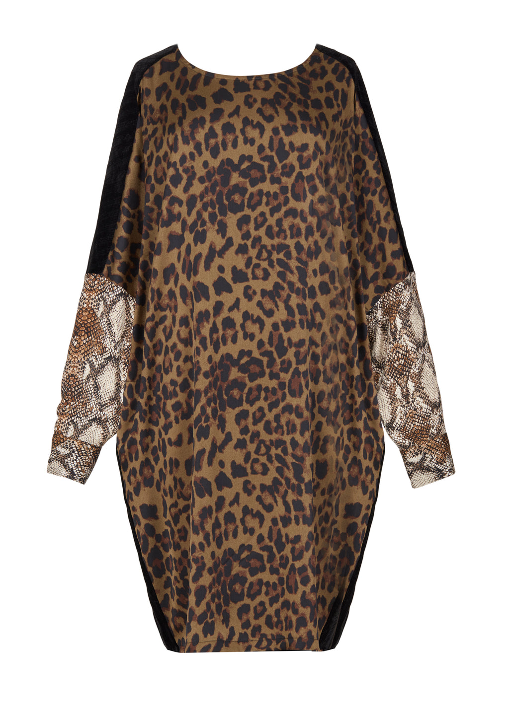ALD406 Leopard Dress