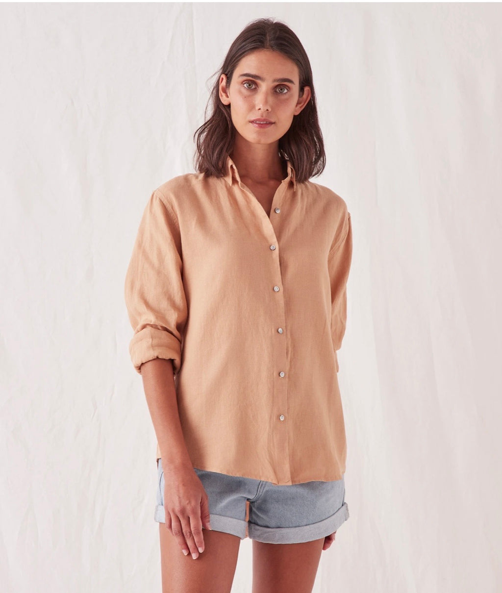 Xander Long Sleeve shirt Taupe