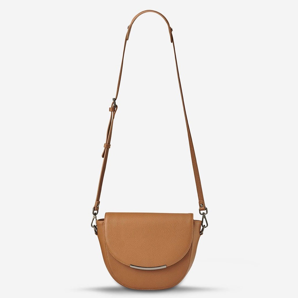 Oracle womens leather handbag tan