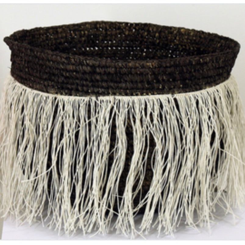Sisal Basket Black