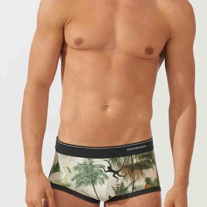 Monkeys men's boxer briefs