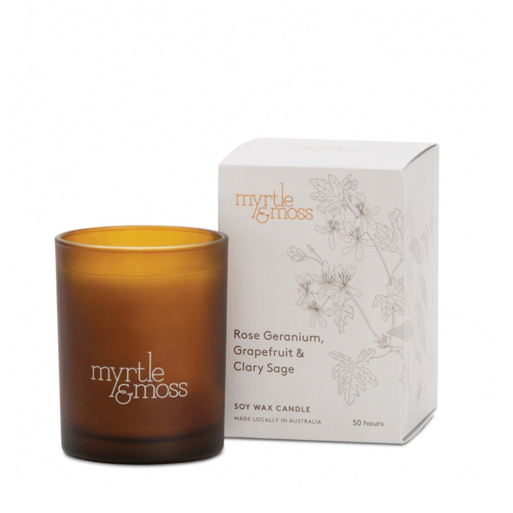 Myrtle Moss candle