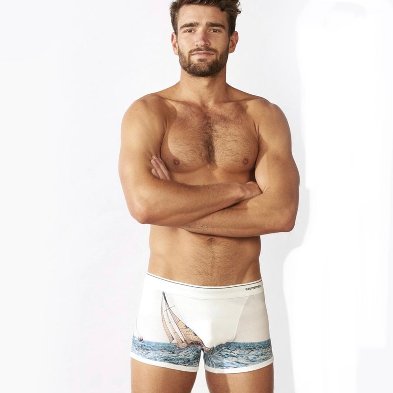 Stonemen Mens boxer brief Sailor