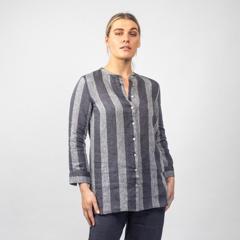 GA283 Slate Stripe Shirt