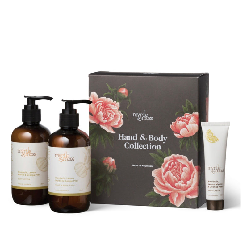 Gift trio Body Wash Body Lotion Hand Cream