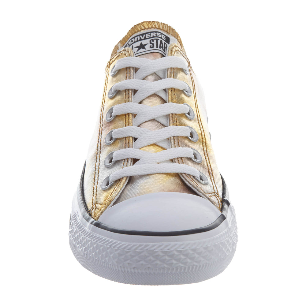 a6b45aae78a Converse Chuck Tailor All Star Ox Unisex Style   157655f-SILVER GOLD WHITE