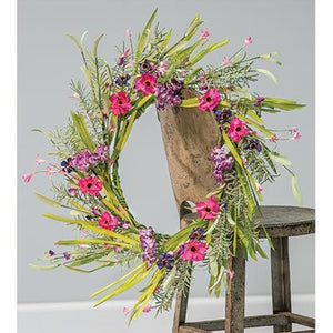 Lily Grass Wreath