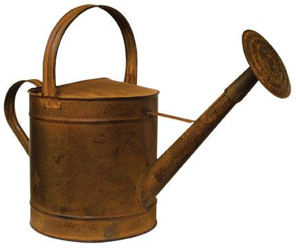 *Rusty Watering Can - 16