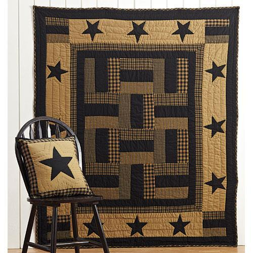 Delaware Star Twin Quilt, 86x68