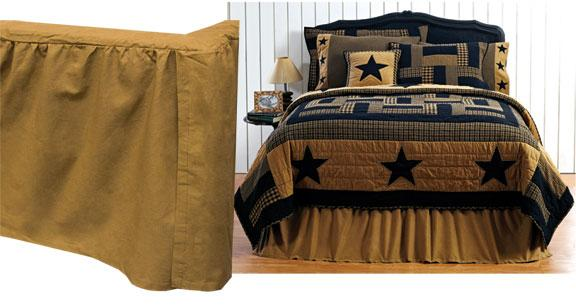 Delaware Star King Bed Skirt