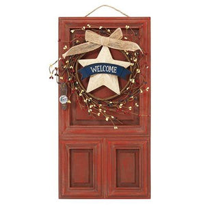 Patriotic Welcome Door