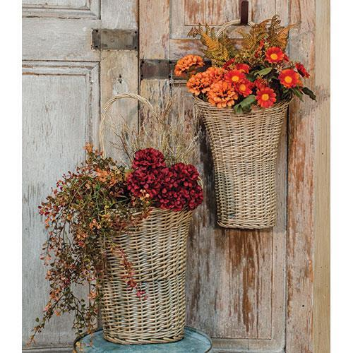 2/Set, Willow Wall Baskets