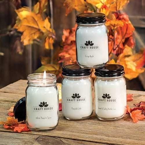 12/Set, Fall Collection Pint Candles